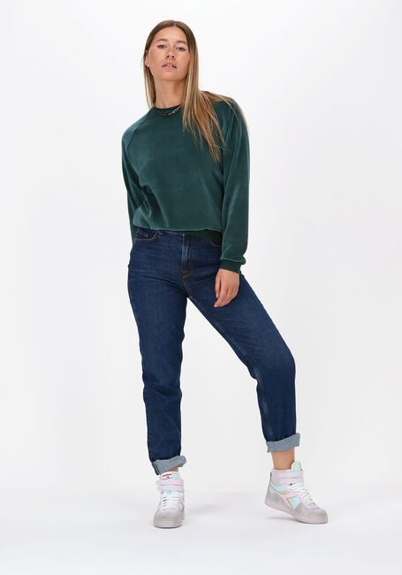 Groene BY-BAR Sweater TEDDY VELVET SWEATER - large