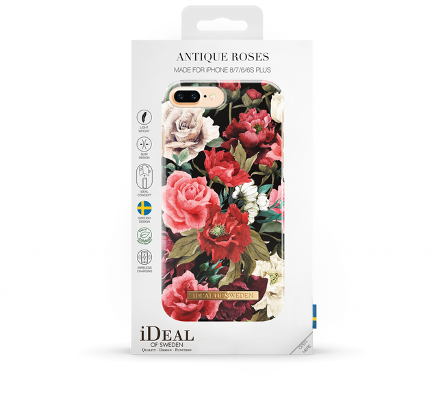 Roze IDEAL OF SWEDEN Telefoonhoesje CASE IPHONE 8/7/6/6S PLUS - large