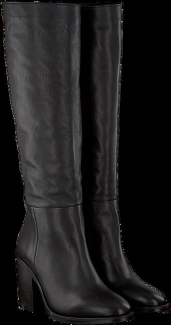 Zwarte TOMMY HILFIGER Lange laarzen MONO COLOR LONG  - large