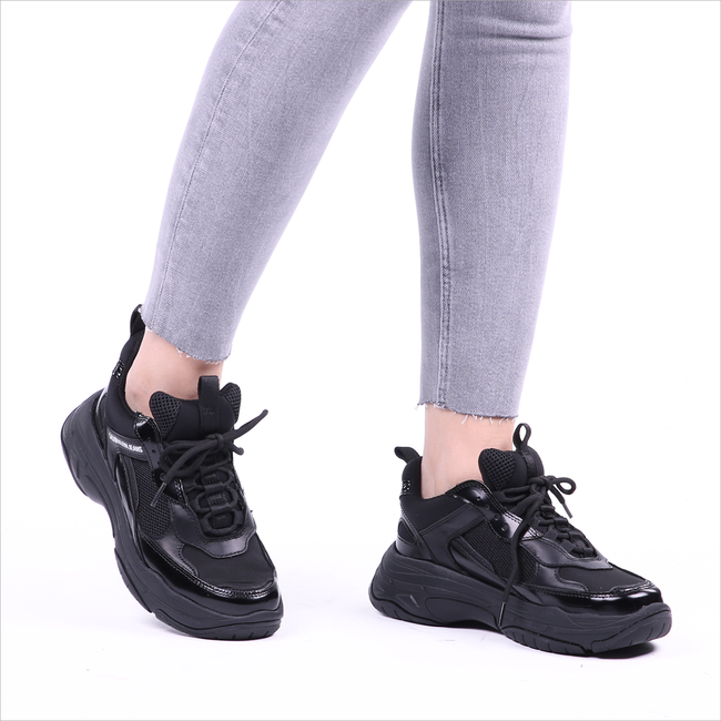 Zwarte CALVIN KLEIN Sneakers MAYA  - large
