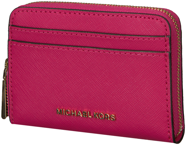 Roze MICHAEL KORS Portemonnee ZA CARD CASE - large