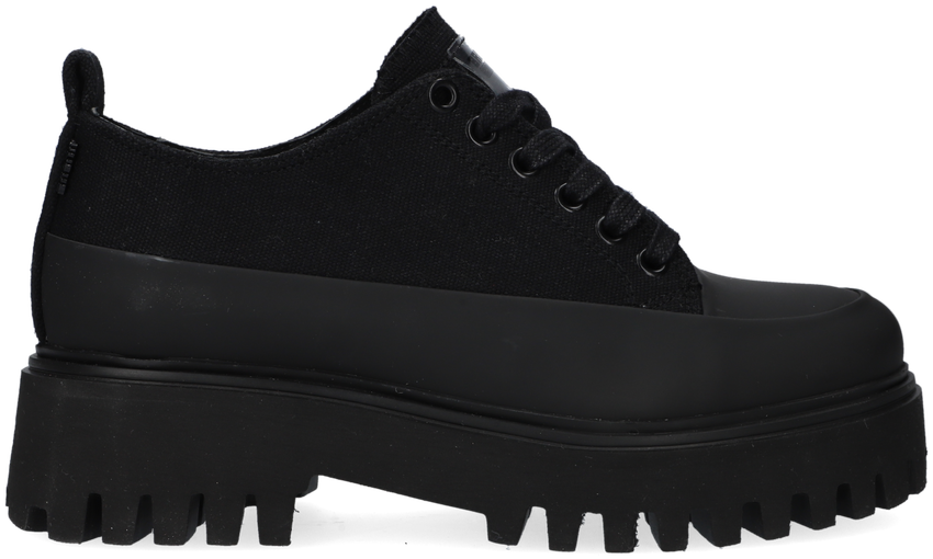 Zwarte BRONX Veterschoenen GROOV-Y 66404  - larger
