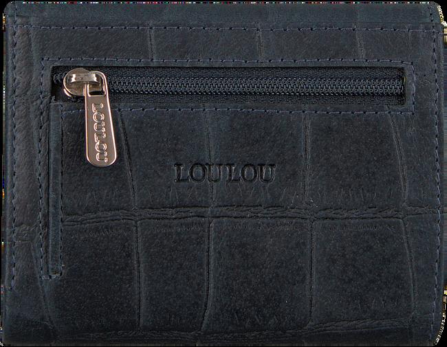 Blauwe LOULOU ESSENTIELS Portemonnee SLB6XS  - large