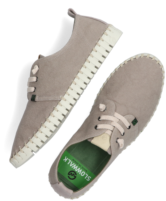 Taupe SLOWWALK Lage sneakers FOSIL  - large