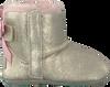 Gouden UGG Babyschoenen JESSE BOW II METALLIC  - small