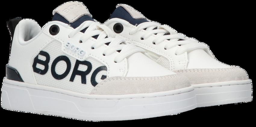 Witte BJORN BORG Lage sneakers T1060 LGO K  - larger