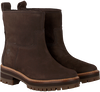 Bruine TIMBERLAND Enkelboots COURMAYEUR VALLEY FAUX FUR  - small