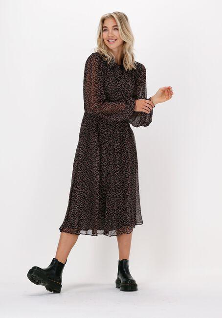 Zwarte IDANO Maxi jurk SUZI - large