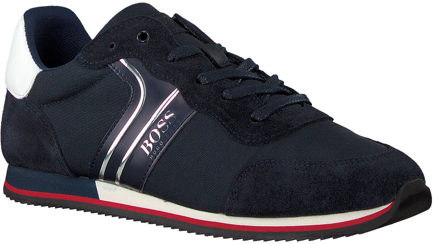 Blauwe BOSS KIDS Sneakers J29184  - larger