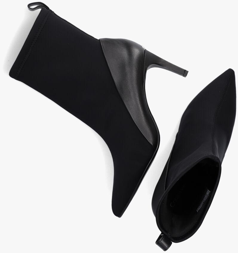 Zwarte CALVIN KLEIN Enkellaarsjes SOCK ANKLE BOOT 70  - larger