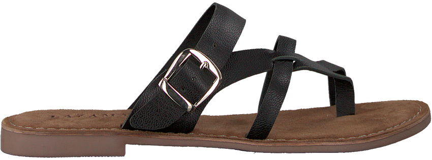 Zwarte LAZAMANI Slippers 75.608  - larger