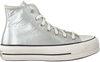 Zilveren CONVERSE Hoge sneaker CHUCK TAYLOR ALL STAR LIFT HI  - small