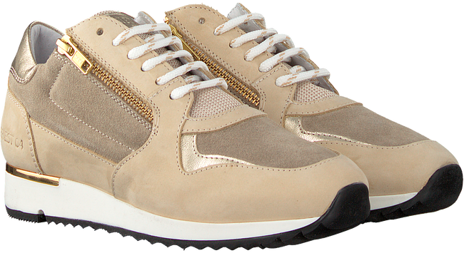 Beige RED-RAG Lage sneakers 76756  - large