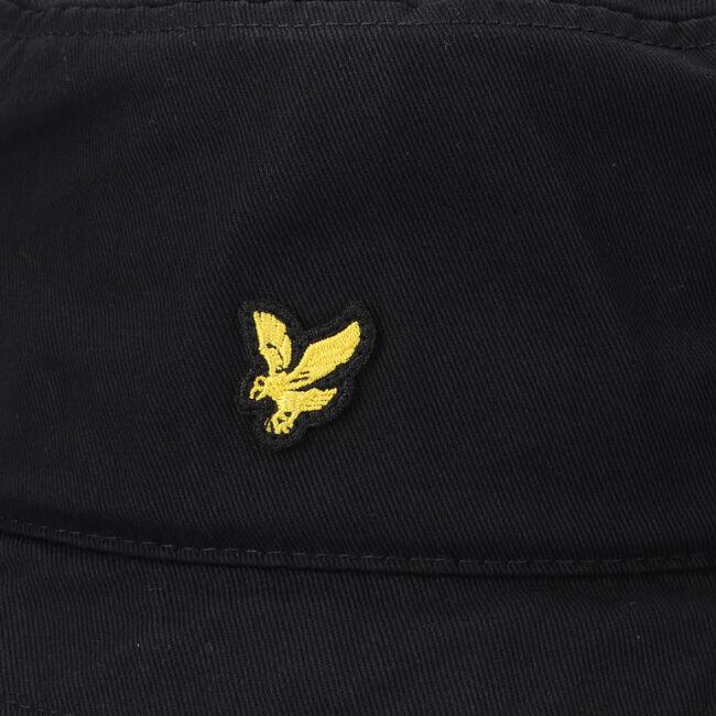 Zwarte LYLE & SCOTT Hoed COTTON TWILL BUCKET HAT  - large