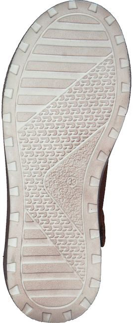 Cognac DEVELAB Hoge sneaker 41879  - large
