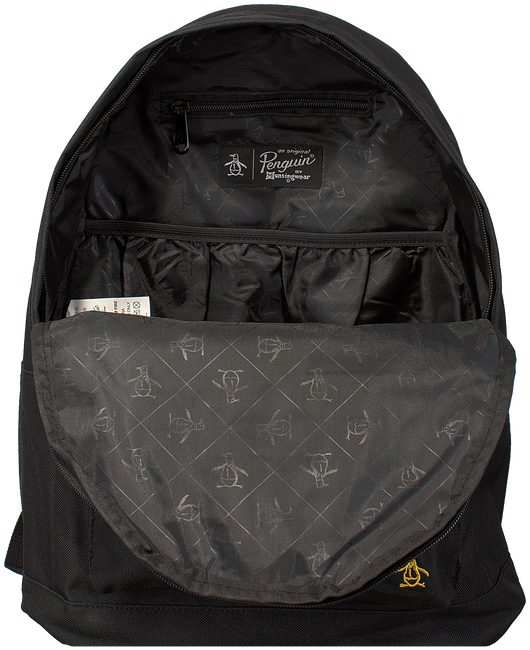 Zwarte ORIGINAL PENGUIN Rugtas HOMBOLDT BACKPACK - large