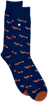 Blauwe ALFREDO GONZALES Sokken FOXY - medium