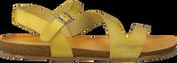 Gele RED-RAG Sandalen 79208  - medium