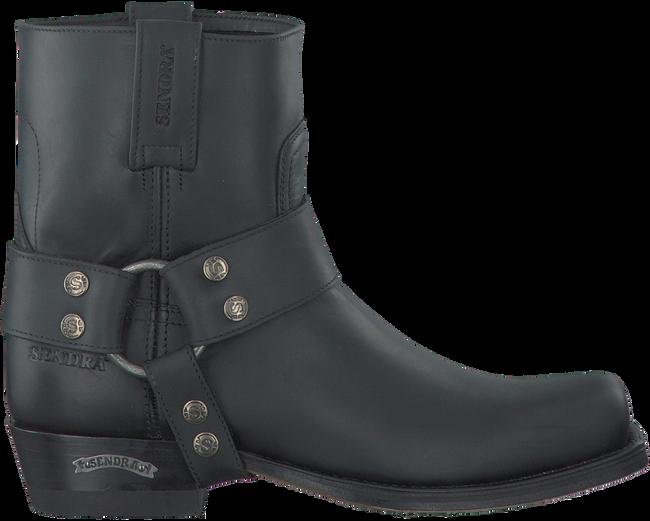 Zwarte SENDRA Cowboylaarzen 9077  - large