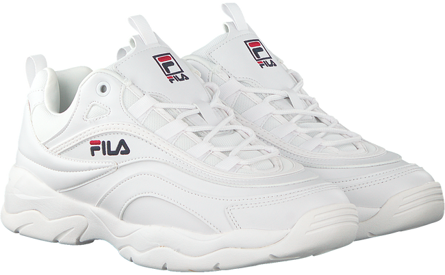 Witte FILA Sneakers RAY LOW MEN  - large