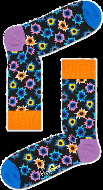 Zwarte HAPPY SOCKS Sokken BANG BANG - large