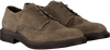 Taupe HUNDRED 100 Veterschoenen M681  - small