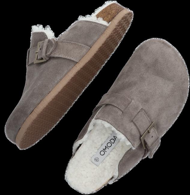 Grijze OMODA Pantoffels METTE  - large