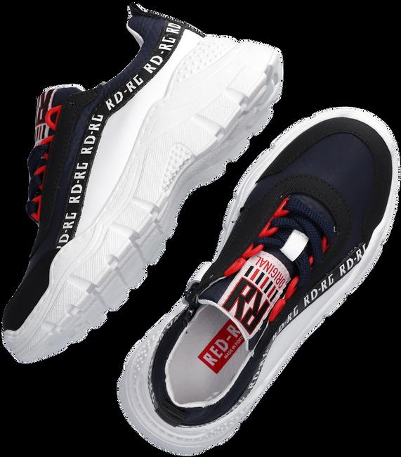 Blauwe RED-RAG Lage sneakers 13035  - large