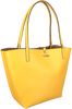 Gele GUESS Handtas ALBY TOGGLE TOTE  - small