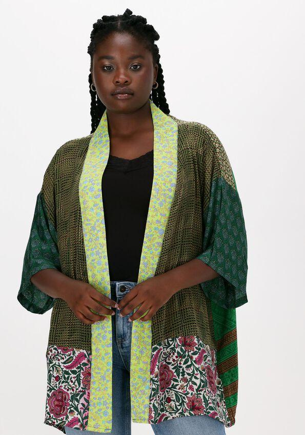 Groene SISSEL EDELBO Kimono LOTUS SHORT MIX KIMONO - larger