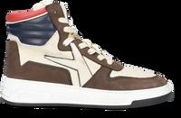 Bruine ARCHIVIO 22 Hoge sneaker 477  - medium
