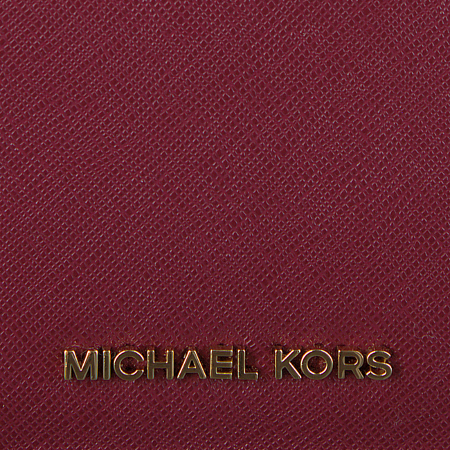 Rode MICHAEL KORS Portemonnee FLAP CARD HOLDER - large