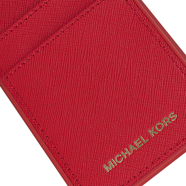Rode MICHAEL KORS Telefoonhoesje PHN COVER W PKT7 LTR - large