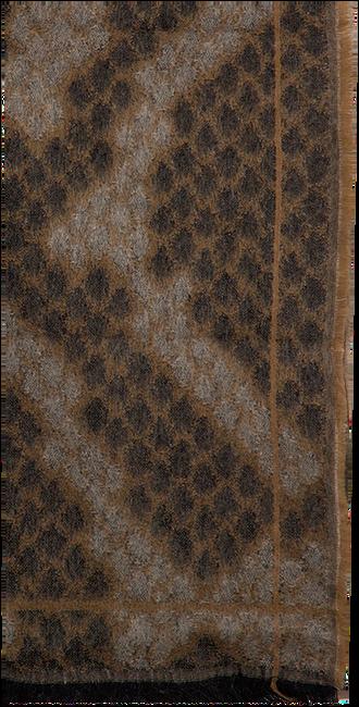 Bruine NOTRE-V Sjaal CIRA  - large
