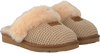 Beige UGG Pantoffels COZY KNIT SLIPPER - small