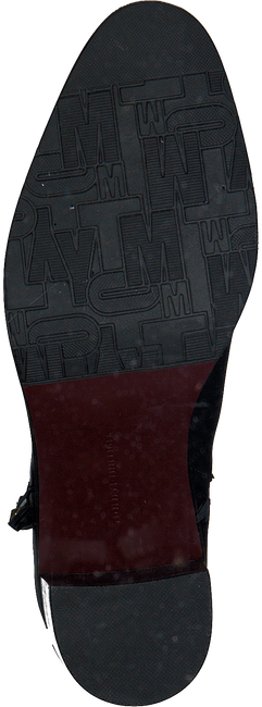 Zwarte TOMMY HILFIGER Enkellaarsjes CORPORATE TASSEL HEELED BOOT - large