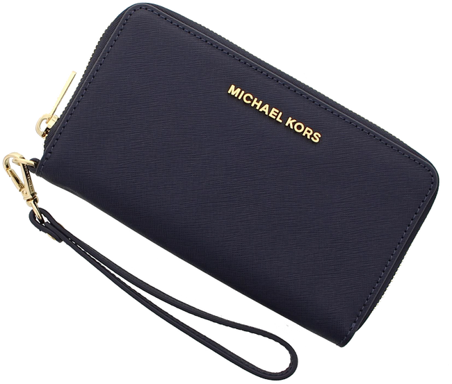 MICHAEL KORS PORTEMONNEE LG FLAT MF PHONE CASE - large