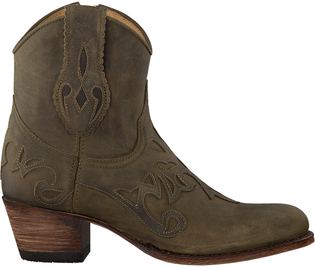 Groene SENDRA Cowboylaarzen 14307  - large