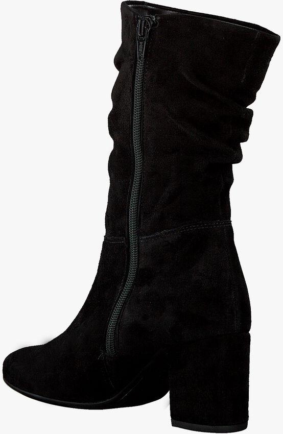 Zwarte GABOR Enkellaarsjes 611.1  - larger