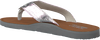 Zilveren TOMMY HILFIGER Slippers GLITTER BEACH SANDAL - small