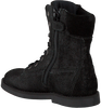 Zwarte SHOESME Veterboots SI7W076  - small