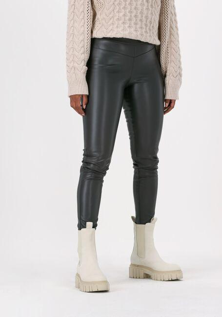 Grijze SIMPLE Pantalon ECO LEATHER PANTS - large