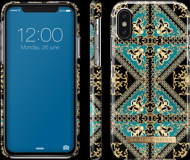 Groene IDEAL OF SWEDEN Telefoonhoesje FASHION CASE IPHONE X/XS - large