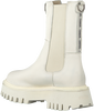 Witte BRONX Chelsea boots GROOV-Y 47268  - small