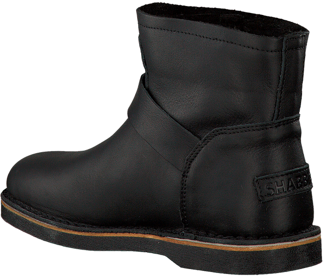 Zwarte SHABBIES Enkelboots 181020086  - large