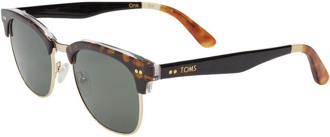 Bruine TOMS Zonnebril SUN GAVIN - large