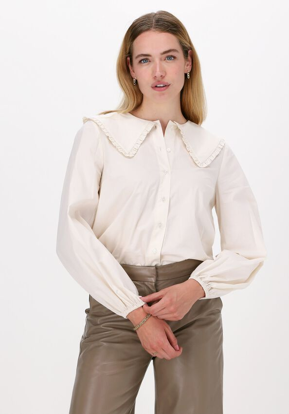 Beige JUST FEMALE Blouse EVE SHIRT - larger