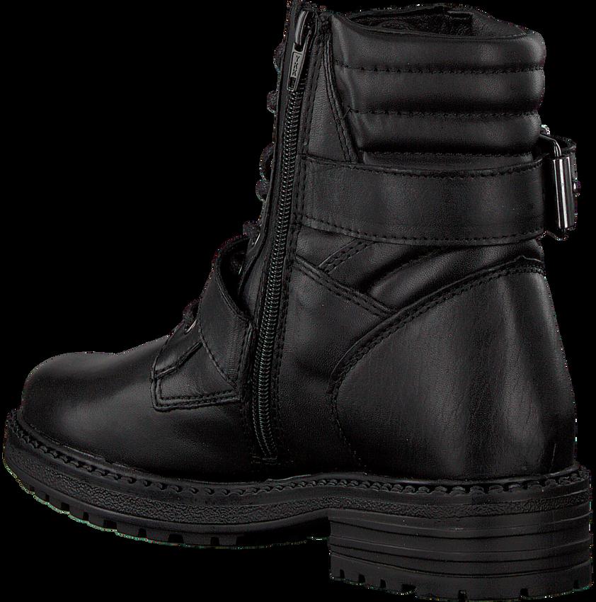 Zwarte OMODA Biker boots LPLEAF40 - larger