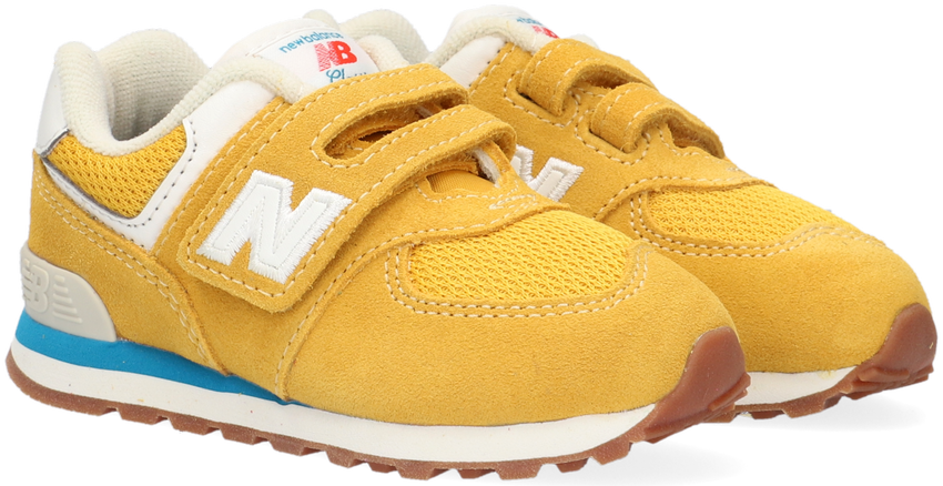 Gele NEW BALANCE Lage sneakers IV574  - larger