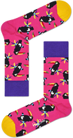 Roze HAPPY SOCKS Sokken TOUCAN  - medium